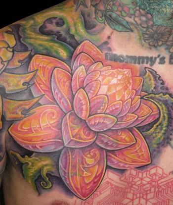 Tattoos - Lotus Tattoo - 33848