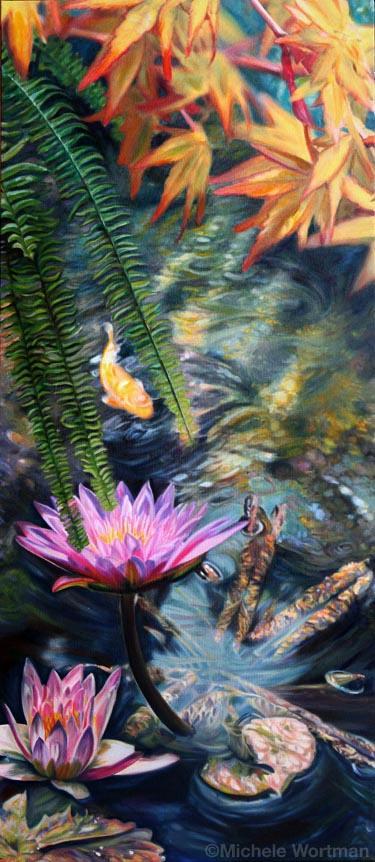 Michele Wortman - Watergarden 12