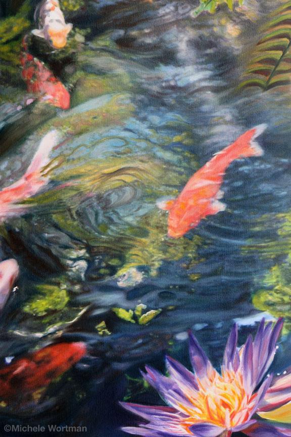 Michele Wortman - Watergarden 2 detail
