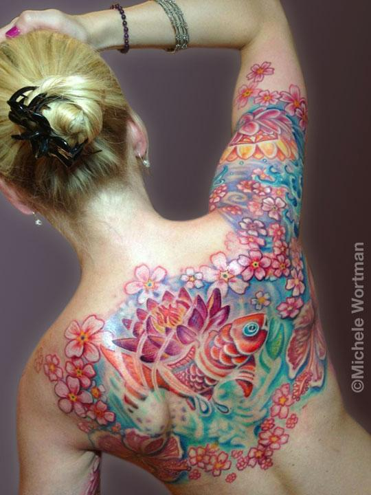 Michele Wortman - Yolanda upper backpiece