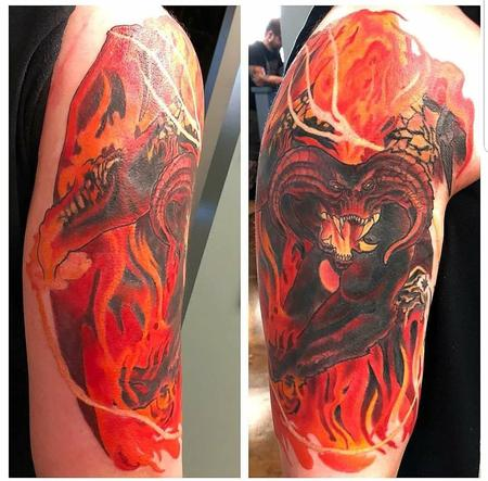 Tattoos - Balrog - 135097