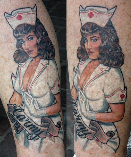 Tattoos - crystals pin up - 80075