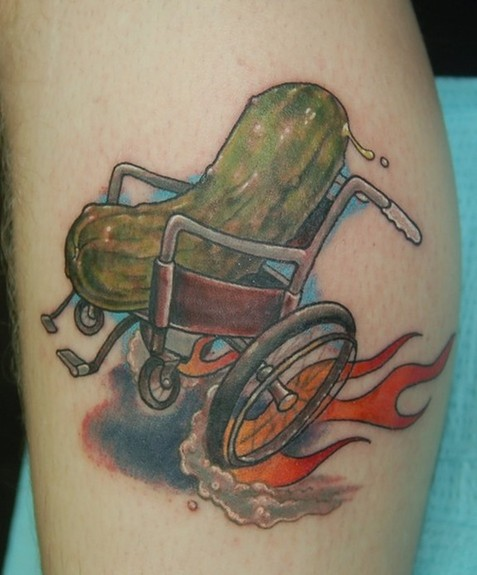 Shawn Hebrank - Pickle in a Wheelchair