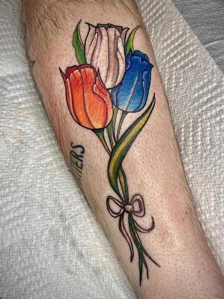 Tattoos - cute flowers - 142372