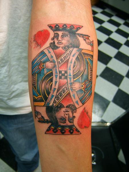 Tattoos - King of Hearts Tattoo - 61089