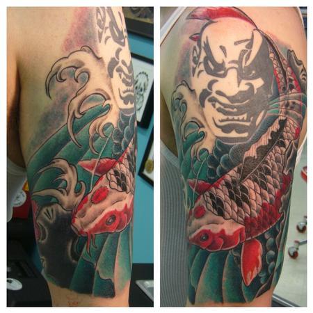 Tattoos - Koi - 80167