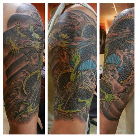 Tattoos - Dragon - 80158