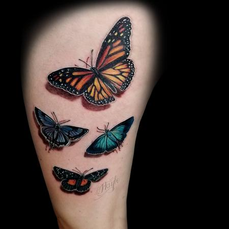 Tattoos - 3D Butterfly tattoo by Haylo  - 141161