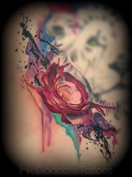 Tattoos - Rose tattoo by Haylo - 141181