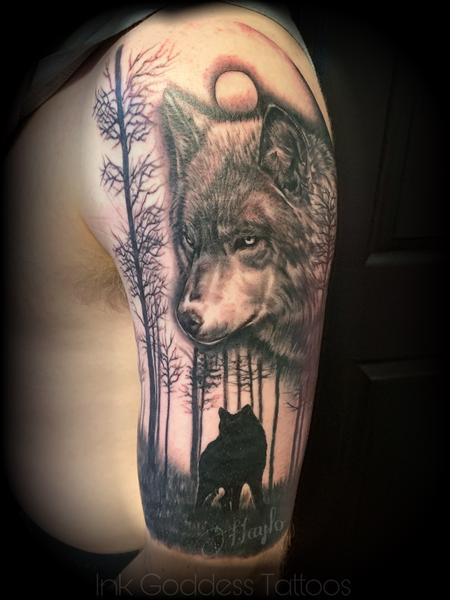 Tattoos - Wolf Tattoo by Haylo - 141179