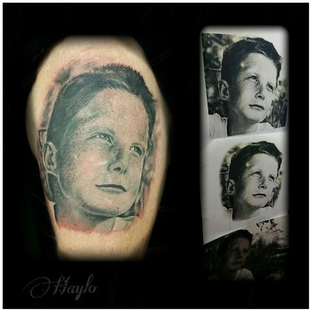 Tattoos - Boy Realistic Portrait - 109128