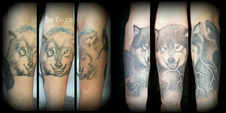 Tattoos - Wolf Overhaul - 109720