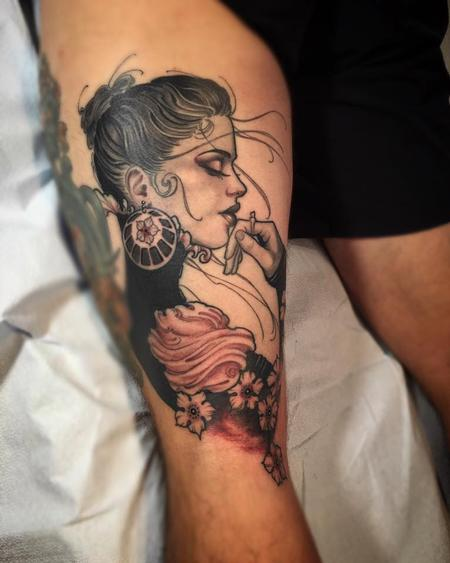 Jeff Norton - Victorian Lady on David from SD