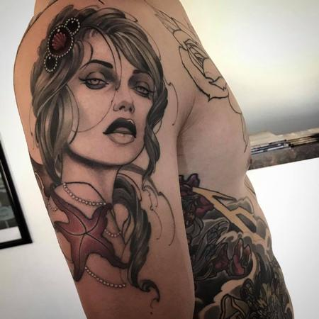 Tattoos - mermaid - 126876