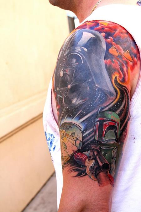 Tattoos - Star Wars sleeve cover up - 76259