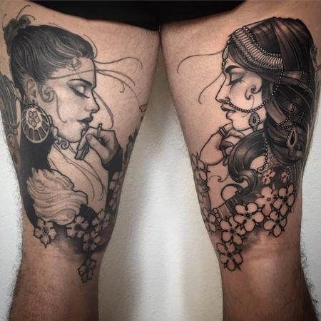 Tattoos - Matching girls - 121938