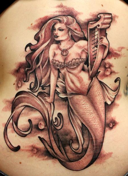 Jesso - harp mermaid