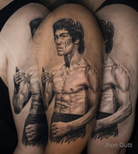 Tattoos - BRUCE LEE - 130616