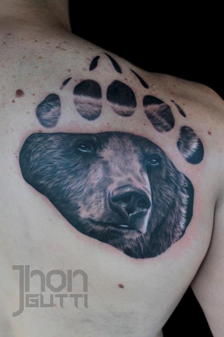 Tattoos - BEAR CLAW  - 104844