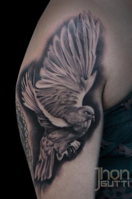 Tattoos - DOVE FLYING - 104700