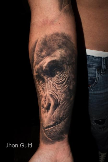 Tattoos - GORILLA - 130613