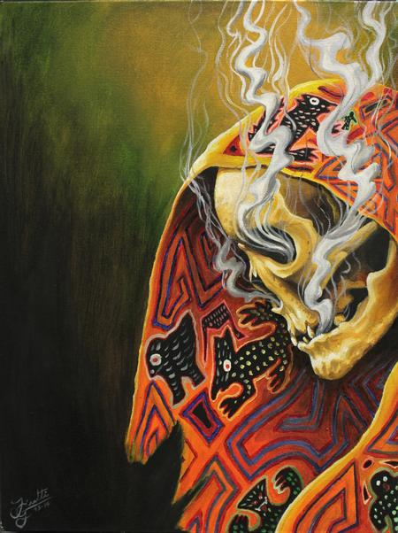 Jhon Gutti - Smoking Skeleton