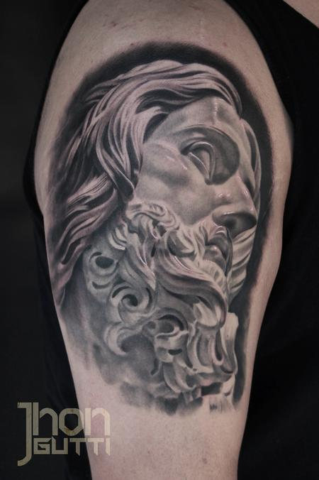 Tattoos - JESUS SCULPTURE - 102440