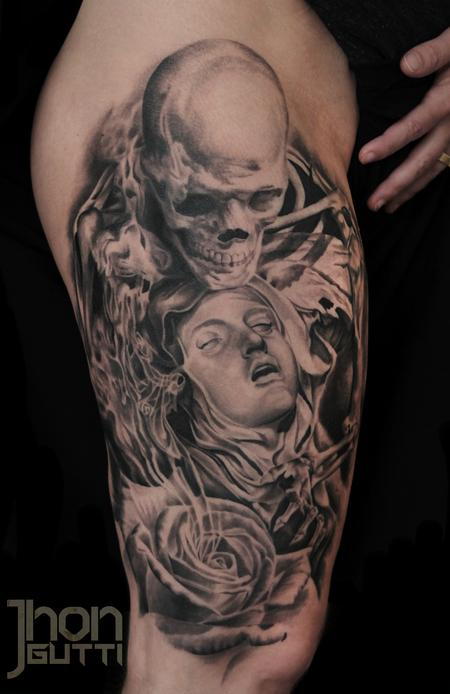 Tattoos - SCULPTURES COMPOSITION - 103999