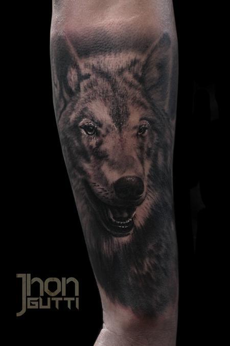 Tattoos - WOLF TATTOO - 106619