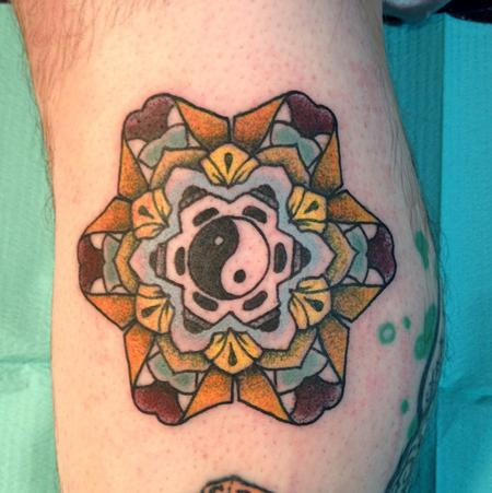 Tattoos - Color Mandala - 81096