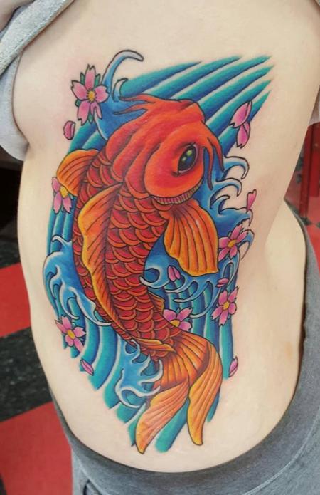 Tattoos - Koi Fish Tattoo - 119299