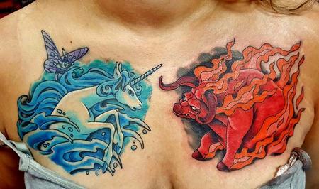 Tattoos - Last Unicorn tattoo - 121960