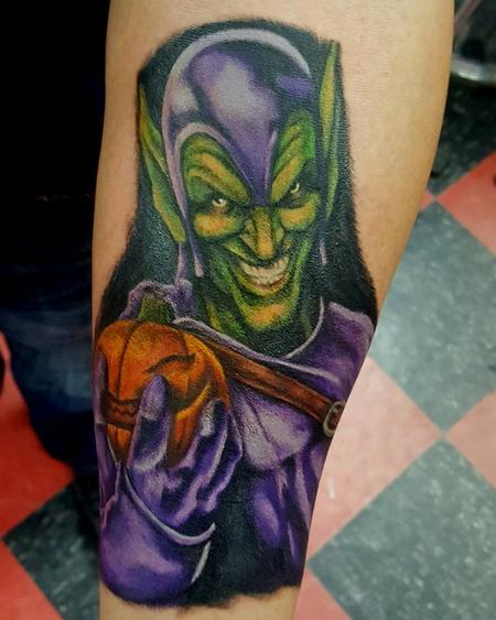 Tattoos - Green Goblin Tattoo - 122245