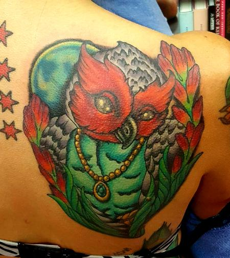 Tattoos - Owl tattoo - 133223