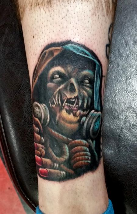 Tattoos - Scarecrow Tattoo - 119452