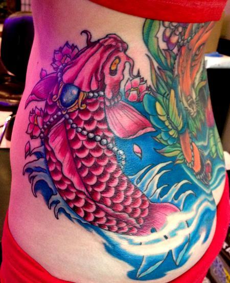 Tattoos - Koi Fish Tattoo - 115972