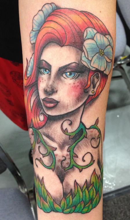 Tattoos - Poison Ivy - 115623