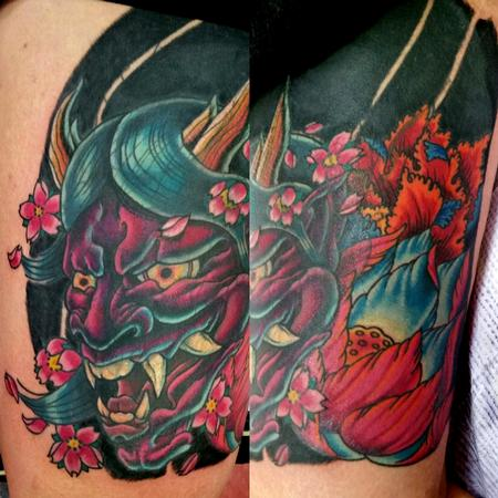 Tattoos - Hannya Tattoo - 117830