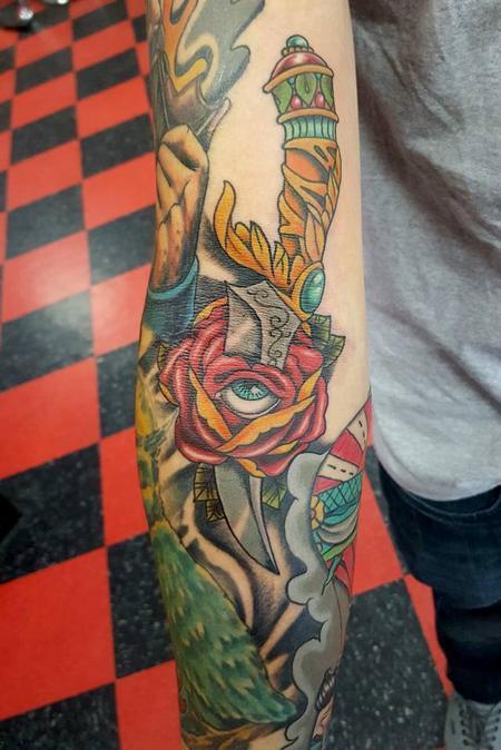 Tattoos - Dagger Tattoo - 119957