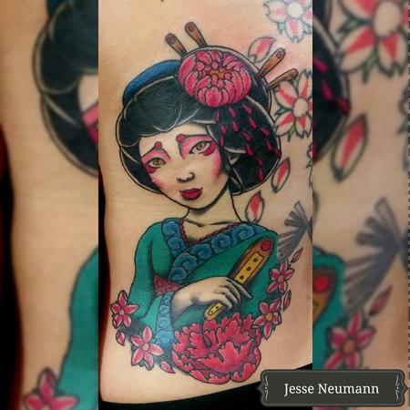 Tattoos - Geisha tattoo - 111983