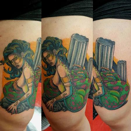 Tattoos - Medusa tattoo - 133432