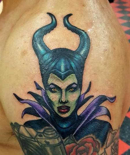 Tattoos - maleficent tattoo - 125638