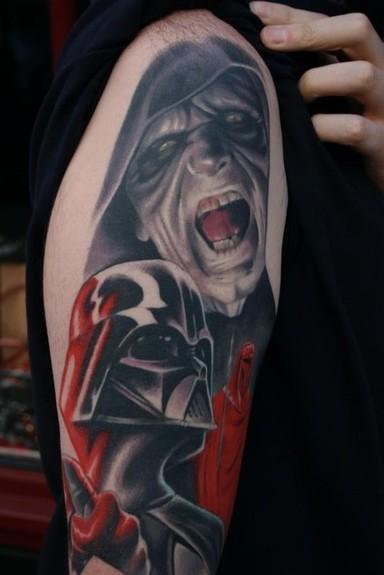 Tattoos - Darth Vader Tattoo - 52203