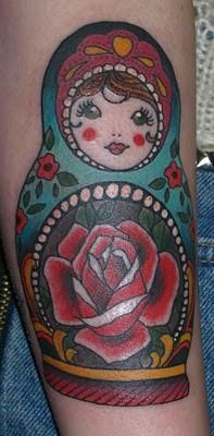 Tattoos - Russian doll tattoo - 52182