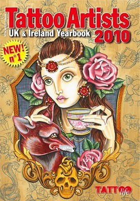 Claudia De Sabe - Tattoo Artists 2010 Cover