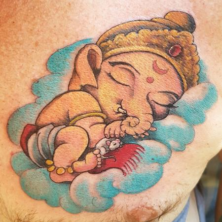 Tattoos - Baby Ganesha - 125545