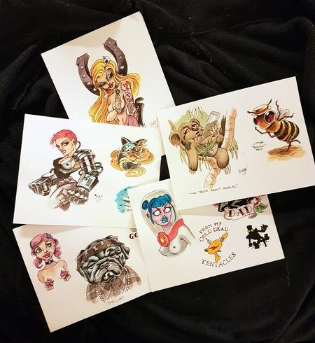 Steve Malley - Original Art Tattoo Flash Designs