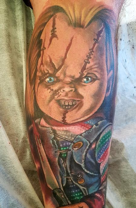 Steve Malley - Chucky Tattoo