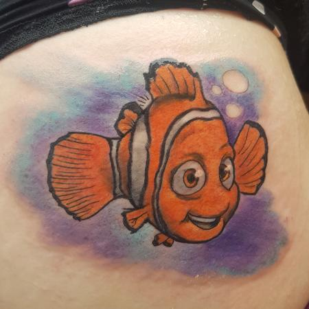 Steve Malley - Finding Nemo Color Tattoo