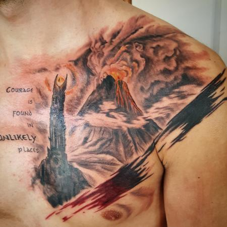 Tattoos - Mordor Tattoo - 120357